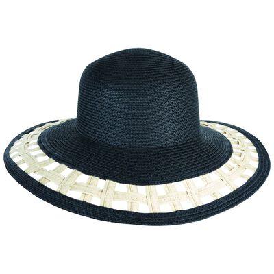 Ara Cut Out Wide Brim Floppy Hat