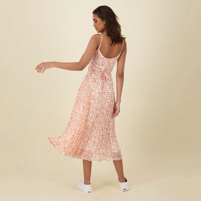Anina Printed Wrap Dress
