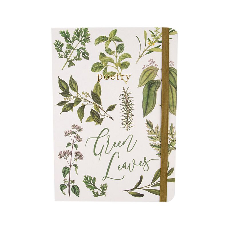 Greenhouse Notebook  -  green-white