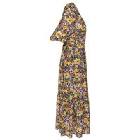 Berdine Floral Dress -  green