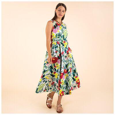 Poetry Alena Printed Poplin Dress