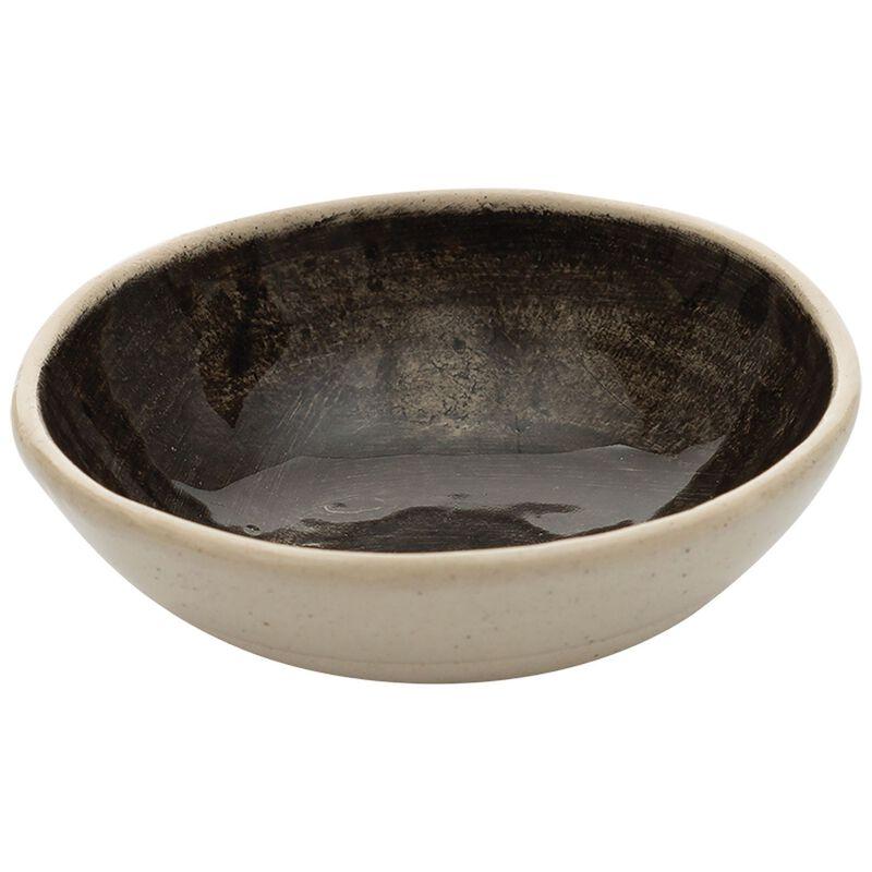 Wonki Ware Jocelyn Solid Black Salt Pinch Pot -  black