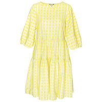 Sydea Tiered Dress -  yellow