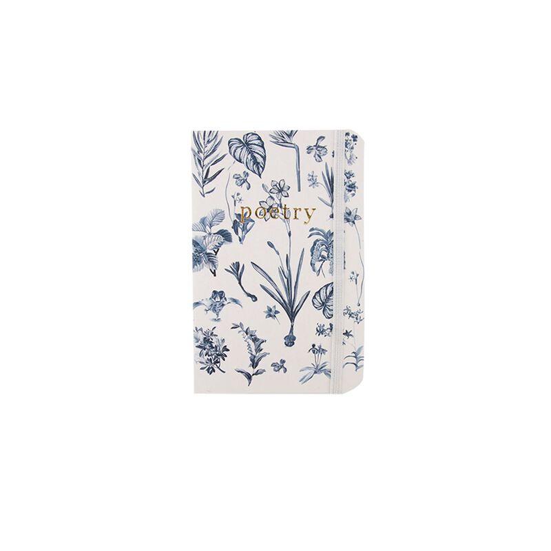 Monochrome Botanical Notebook -  black-white