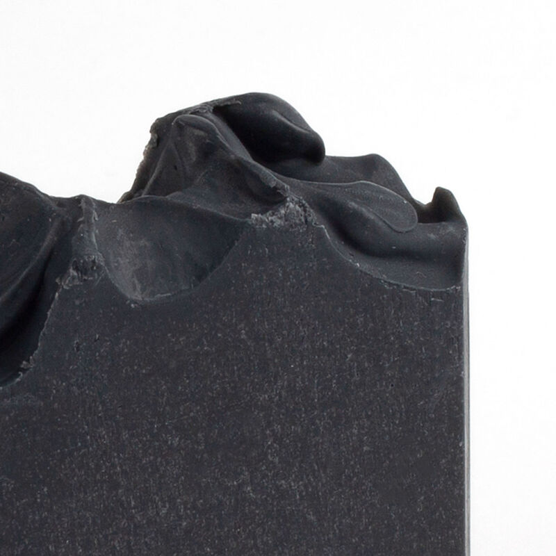 Jonk Activated Charcoal & Peppermint Soap -  black