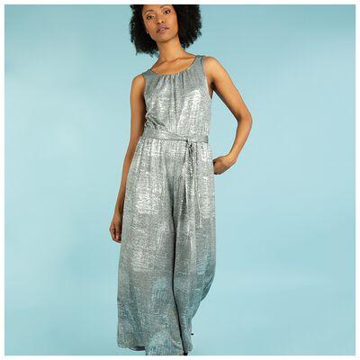 Tneal Metallic Jumpsuit