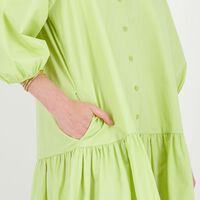 Delilah Tiered Shirt Dress -  c70