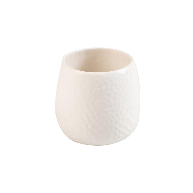 Pret-a-Pot Small Honeycomb Planter -  milk