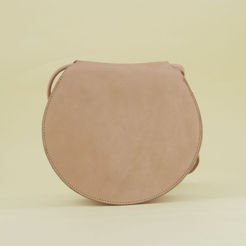 Nora Round Cross Body Leather Bag -  dc2300