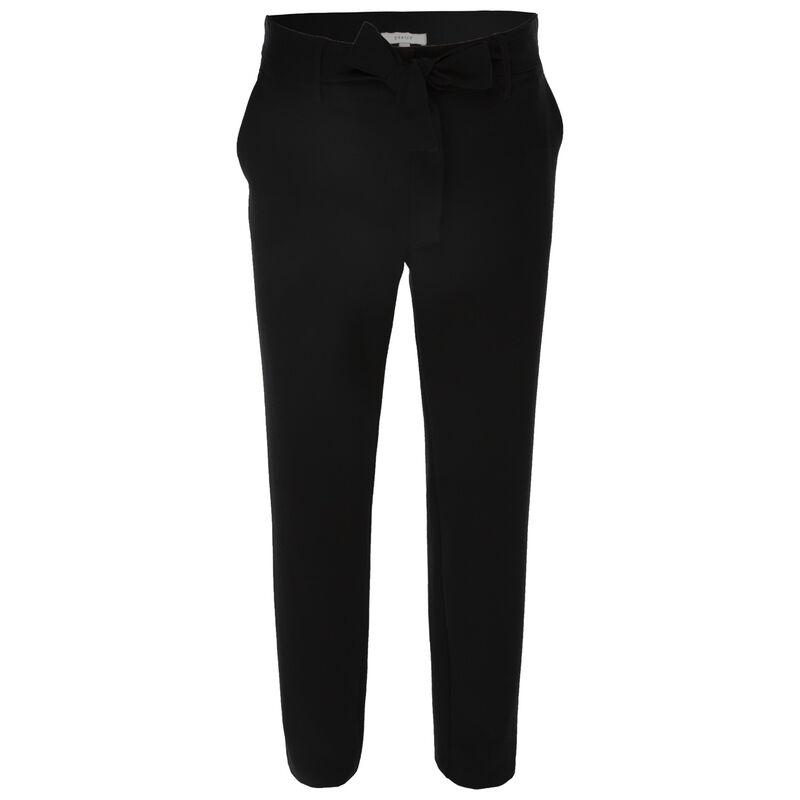 Kura Paperbag Pants -  black
