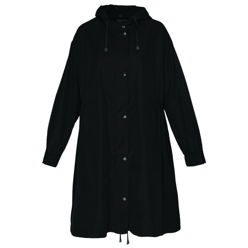 Anika Parka Jacket -  black