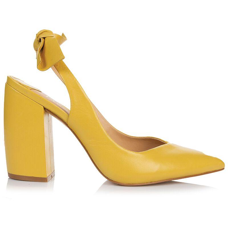 Natalia High Heel -  yellow