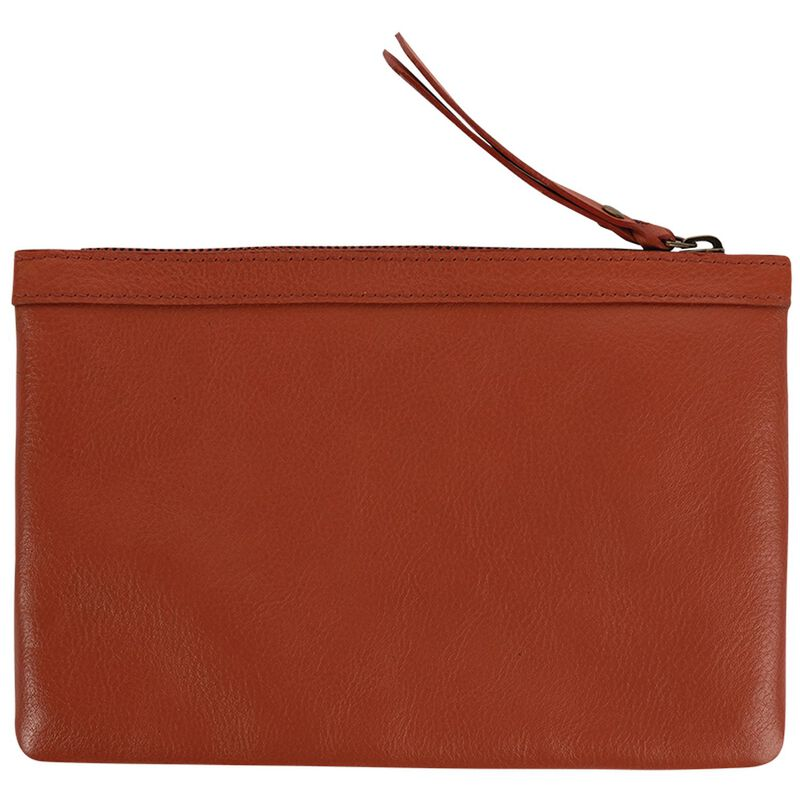 Taylor Leather Pouch -  watermelon