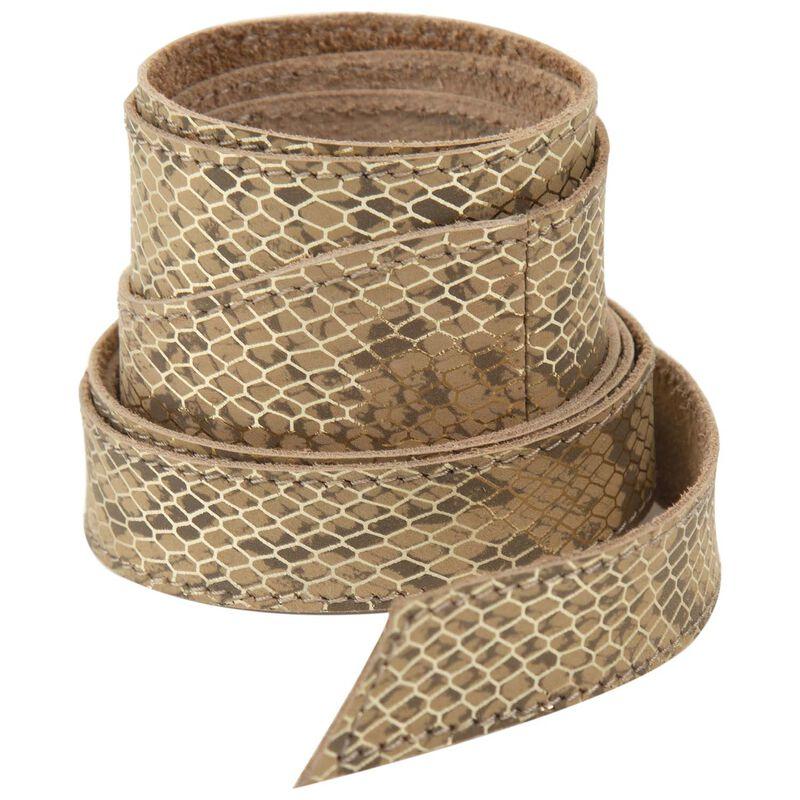 Tammy Waist Tie Belt -  milk