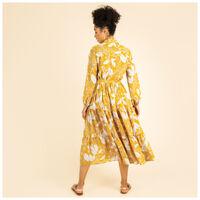 Dafnee Tiered Maxi Dress -  yellow