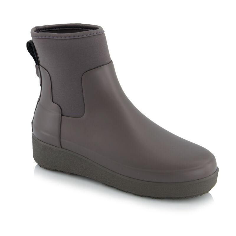 Hunter Refined Creeper Neoprene Chelsea Boot -  brown