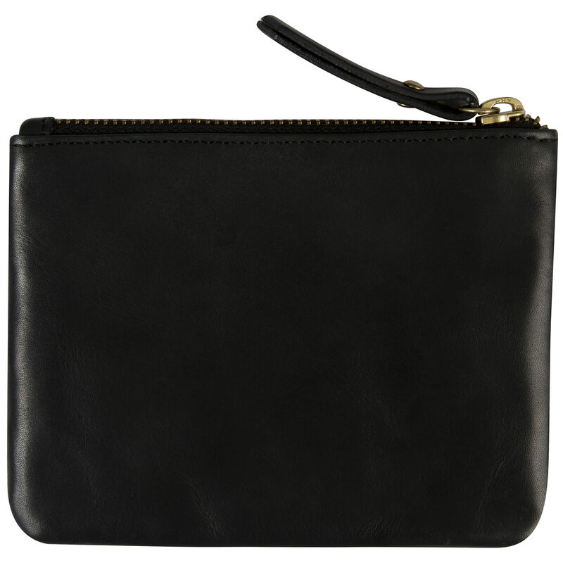 Moira Leather Small Pouch -  black