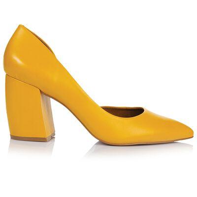 Gianna Curved Block Heel