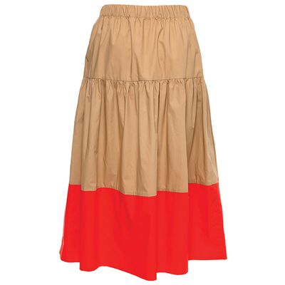 Bryson Colourblock Tiered Skirt