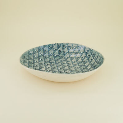 Wonki Ware Oliva Teal Salad Set Bowl
