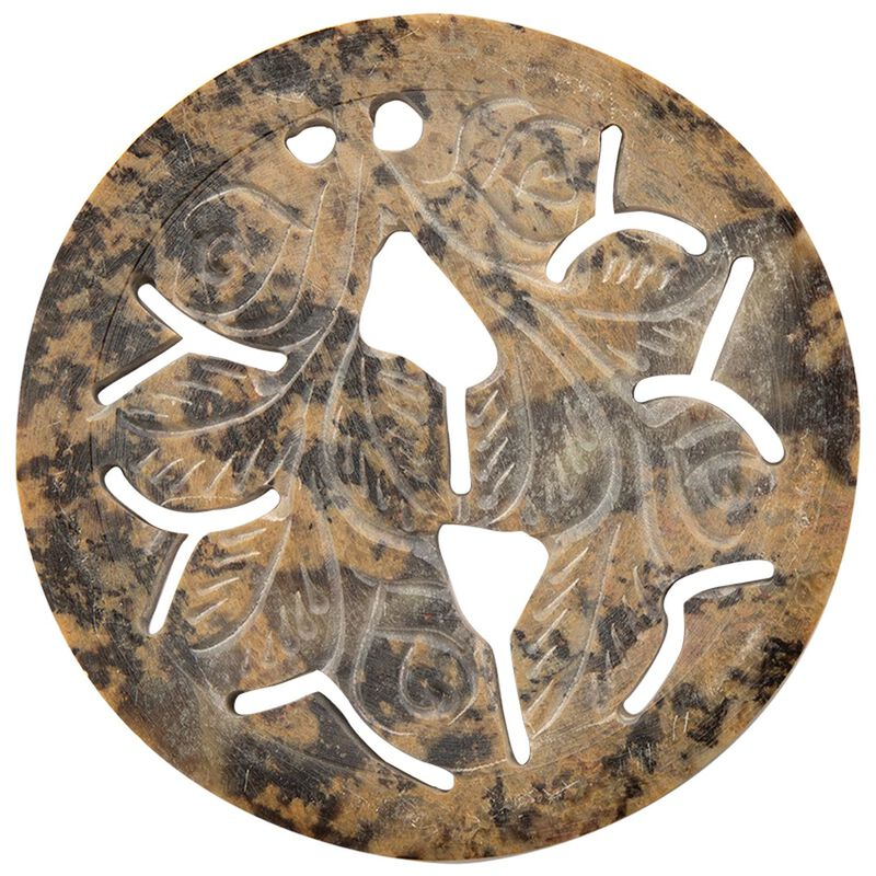 Soapstone Coaster Set -  oatmeal