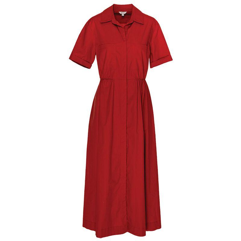 Kady Shirt Dress -  rust