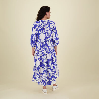 Emma Printed Resort Dress