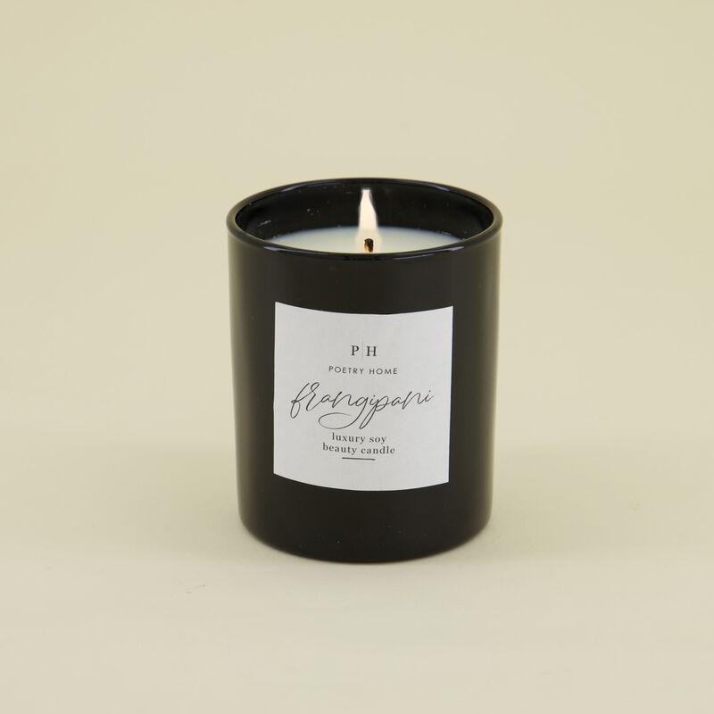 Frangipani Soy Beauty Candle -  c01