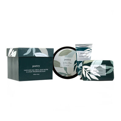 Willow Moss Body Butter, Hand Cream & Soap Gift Set