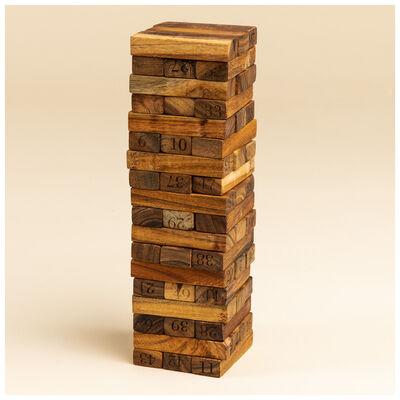 Wooden Jenga Game in Box