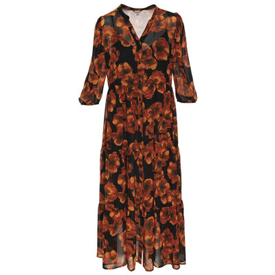 Nola Floral Tiered Dress
