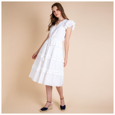 Brooke Pom Pom Dress