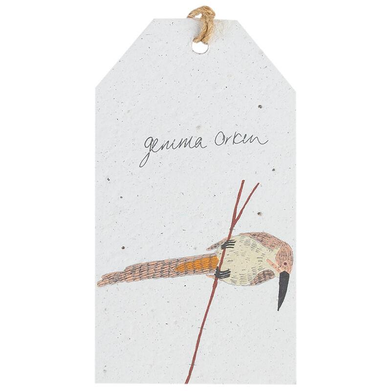 Gemma Orkin White Bird Tag -  assorted