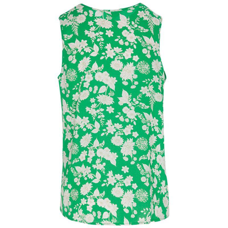 Gunner Printed Tank Top -  green