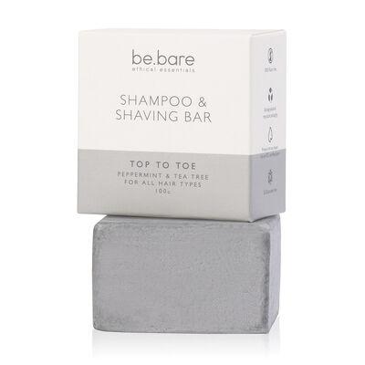 Be Bare: Top to Toe Shampoo & Shaving Bar