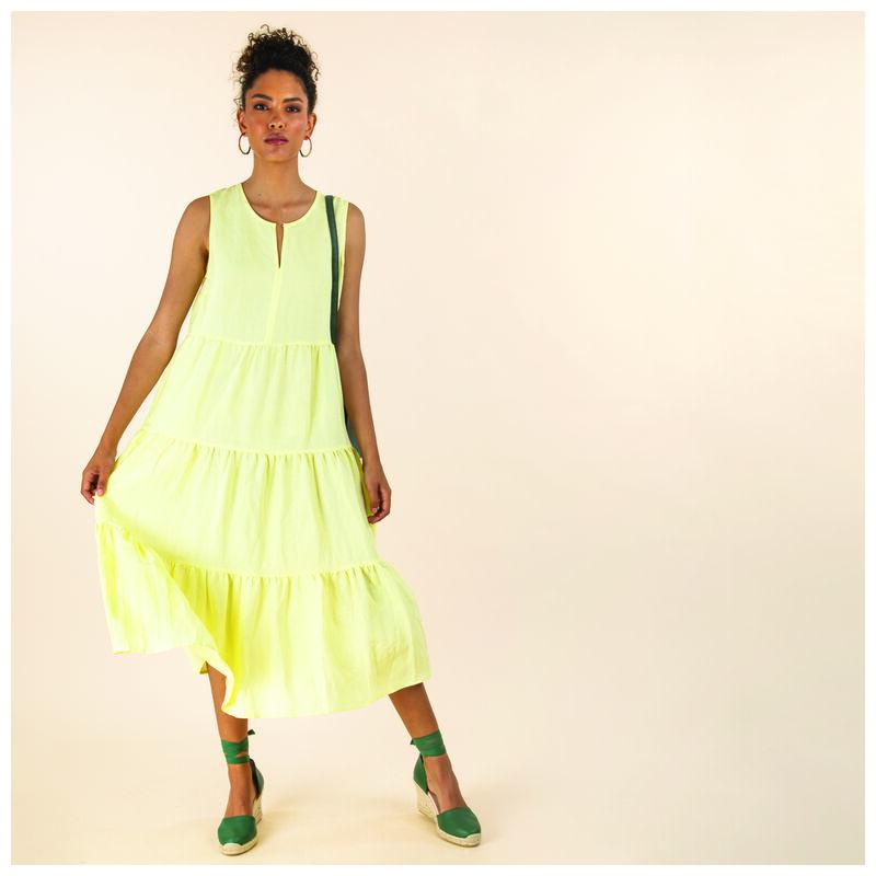Hana Tunic Dress -  yellow