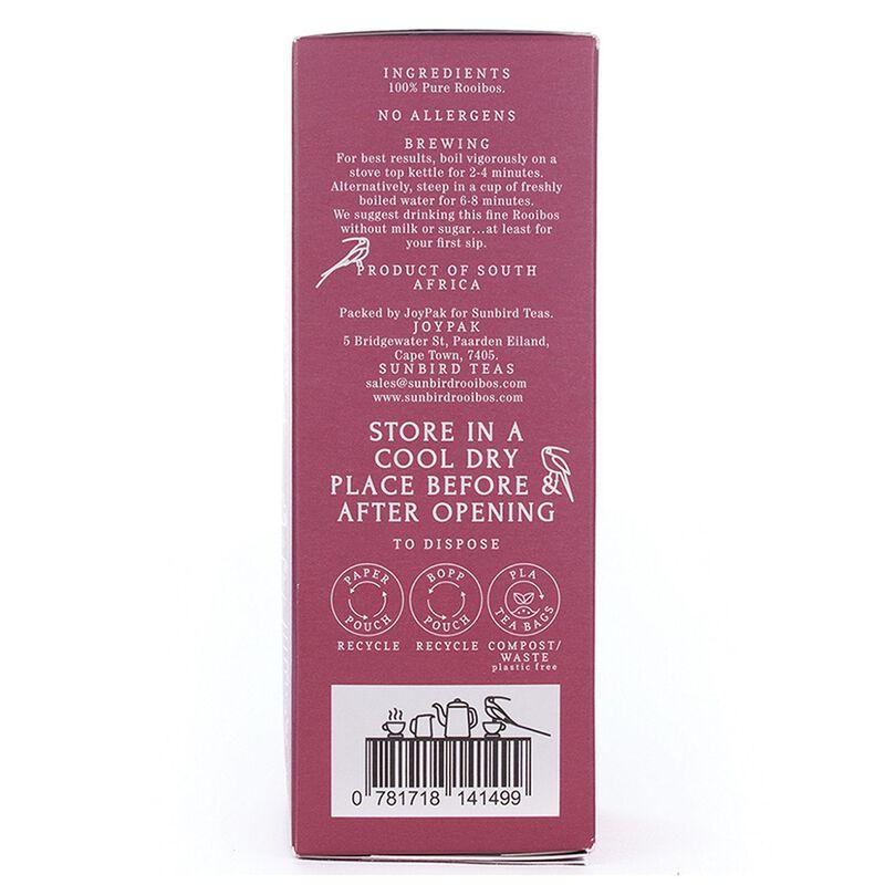 Sunbird Pure Rooibos Tea -  pink