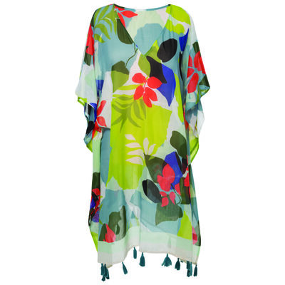 Gabriella Printed Beach Kimono