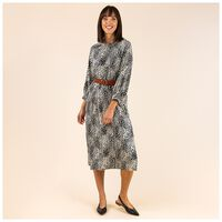 Pascale Printed Tunic -  stone
