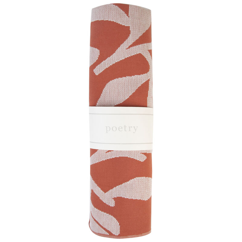 Abstract Turkish Towel -  coral-milk