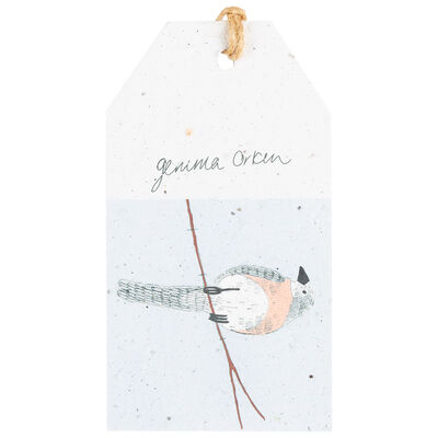 Gemma Orkin Blue Bird Tag
