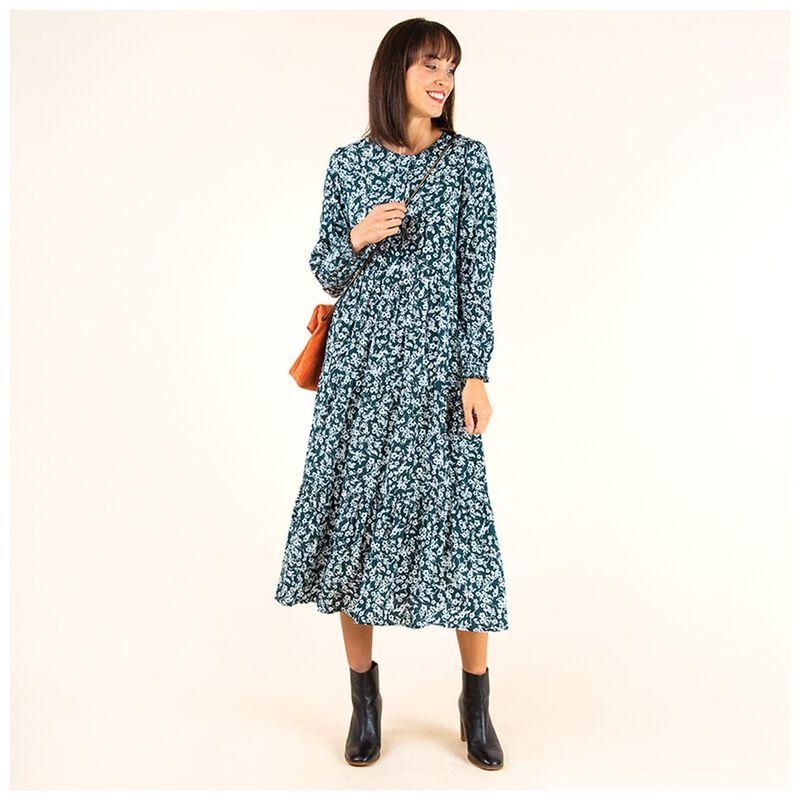 Florence Maxi Dress -  emerald
