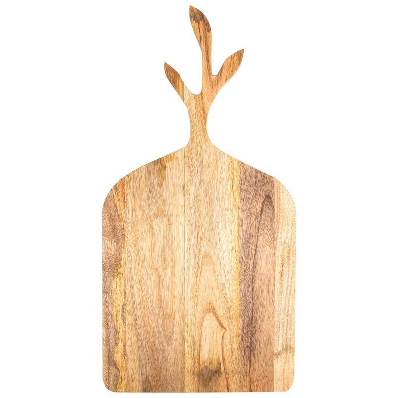 Mango Wood Serving Board  -  brown
