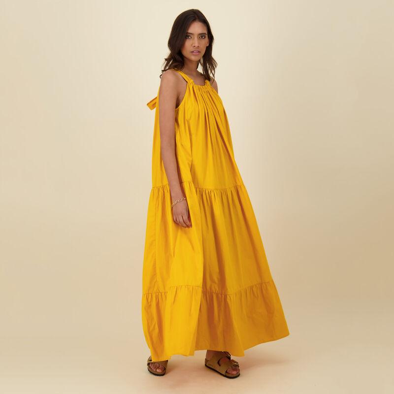Jess Tiered Dress -  yellow